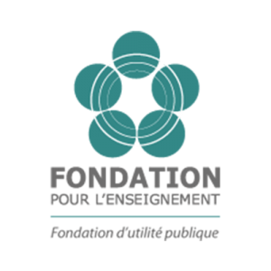 logo fondation pour l'enseignement